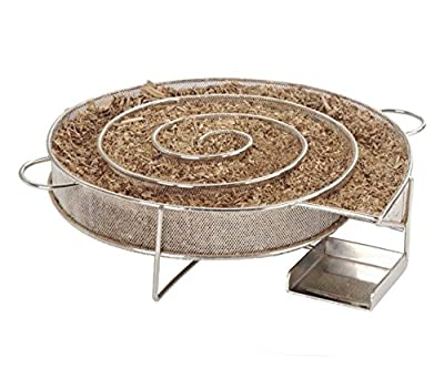 Realsun Cold Smoke Generator Barbecue Meat Smoking Accessories Smoker Box for BBQ Wood Chips from Realsun
