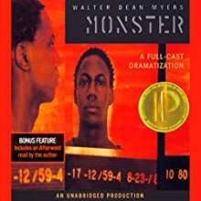 Monster Audiobook by Walter Dean Myers Narrated by  full cast