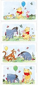 Roommates Rmk1637Scs Winnie The Pooh Poster Peel & Stick Wall Decals by York Wallcoverings