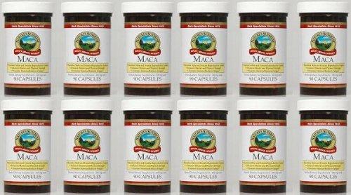 Naturessunshine Maca Glandular System Support Herbal Dietary Supplement 90 Capsules (Pack Of 12)