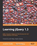 img - for By Jonathan Chaffer - Learning JQuery 1. 3 book / textbook / text book
