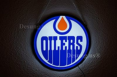 Desung.us® Revolutionary Edmonton Oilers LED Neon Light Sign High Quality Design Decorate 3rd Generation Sign