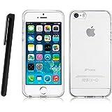 iPhone 5 Silikon Hülle Gel Tasche Klare Transparent