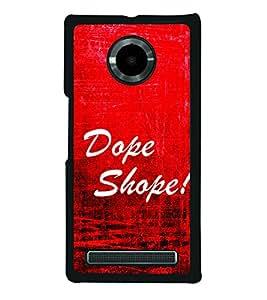 Dope Shope 2D Hard Polycarbonate Designer Back Case Cover for YU Yuphoria :: YU Yuphoria YU5010
