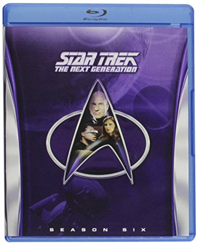 Blu-ray : Star Trek: The Next Generation - Season 6 (Full Frame, Boxed Set, 6 Disc, Sensormatic)
