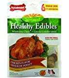Nylabone Healthy Edibles Regular Chicken Flavored Dog Treat Bones with Vitamins, 6 Count