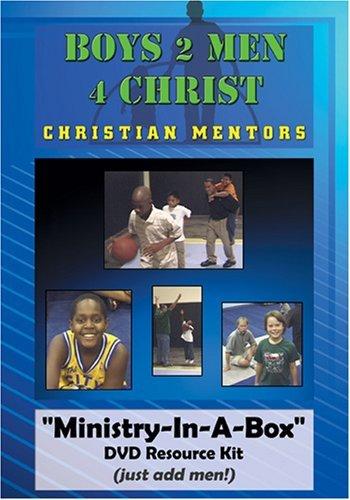 Boys 2 Men 4 Christ Fatherless Mentor Ministry Curriculum Resource DVD
