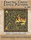Fractal Cross Stitch Pattern No. 4029