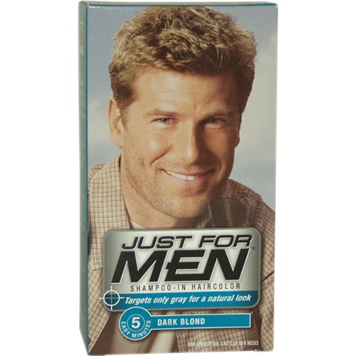 JUST FOR MEN MAKES IT EASY TO GO FROM GREY TO GREAT. Learn More. Hey, Check This Out Control GX now has Anti-dandruff and is available for lighter shades of hair. Learn & Shop. Get your natural color back in as little as 5 minutes. Head Hair Head Hair. Control GX Shampoo. Gradually reduces grey with each shampoo.