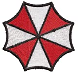 Resident Evil Umbrella Corporation Retribution Nemesis PS3 Costume Iron on Patch Badge