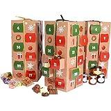 Adviento cajas de regalo Haga su propio kit Calendario de Adviento