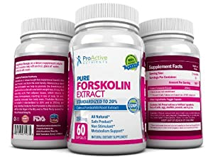Amazon.com: Proactive Nutrients Forskolin Fat Burner Fastest Acting