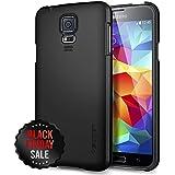 Spigen Ultra Fit Coque pour Samsung Galaxy S5 Noir