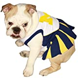 Pets First NCAA University of Michigan Wolverines Cheerleader Outfit, Dog, Medium at Amazon.com