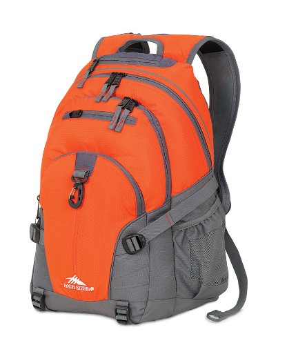 High Sierra High Sierra Loop Backpack (19 x 13.5 x 8.5-Inch, Red Line/Charcoal)