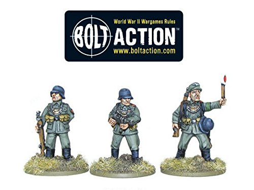 Warlord Games Bolt Action World War 2 German Army Feldgendarmes Afrika Infantry - 1