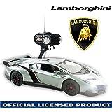 1:14 GREY LAMBORGHINI VENENO SPORT RC Radio Control Car Toy Official Licensed