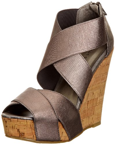 Chinese Laundry Women's Dig It Pewter Wedges 5052125673145 6 UK