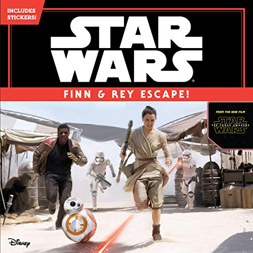 Star Wars The Force Awakens: Finn & Rey Escape! (Includes Stickers!)
