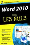 Word 2010 poche pour les nuls