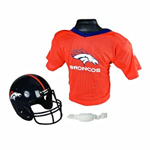 Buy Franklin Sports NFL Replica Youth Helmet and Jersey Set by Franklin