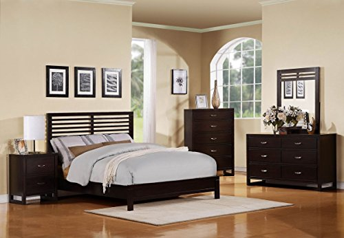 Paula Ii Queen Bed Set (Dresser, And Mirror)