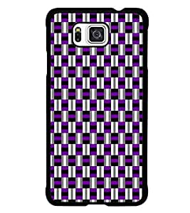 PrintDhaba Pattern D-5918 Back Case Cover for SAMSUNG GALAXY ALPHA (Multi-Coloured)