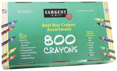The Assortment Of Crayons front-788845