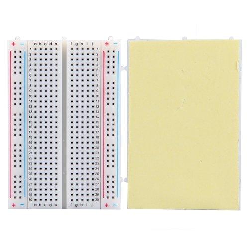 Solderless Breadboard Bread Board 400 Tie Points Contacts
