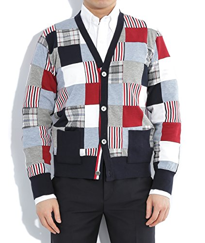 wiberlux-thom-browne-mens-patchwork-v-neck-cardigan-1-multi-color