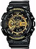 CASIO カシオ G-SHOCK Gショック ジーショック GA-110GB-1A 海外Black×Gold Seriesアナデジコンビモデル 1 1000秒計測ストップウオッチ ブラック×ゴールドシリーズ メンズ 腕時計 時計 【逆輸入品】