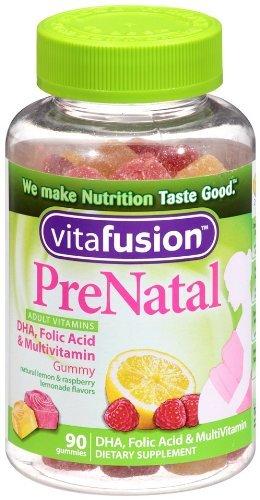 Vitafusion Prenatal Gummy Vitamins, 90 Count (3 Pack)