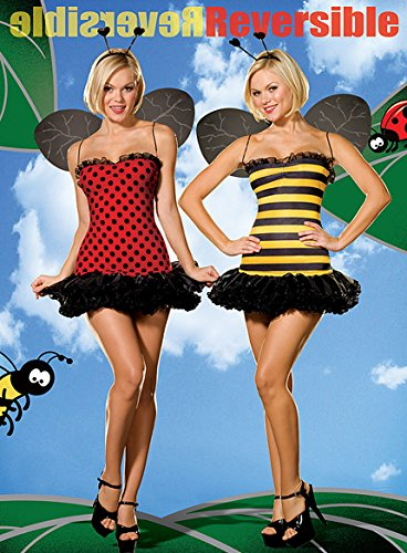 Buggin Out - Reversible Lady Bug Bumble Bee Costume Size:Xtra Small