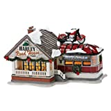Department 56 Snow Village Harley Road House Cafe Lighted Building #4025316