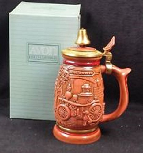 Avon Beer Stein: American Firefighters (1989)