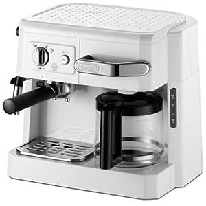 DeLonghi コンビコーヒーメーカー ホワイト BCO410J-W