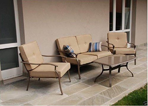 My_Garden M0842-21 Set Verline Sofa Ecrù, Tortora