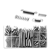 Neiko Steel Spring Shop Assortment - 200 Springs in 20 Sizes/Styles