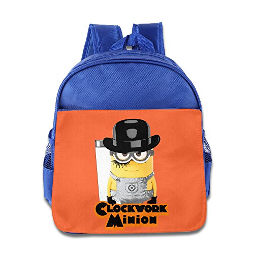 Despicable-Me-Clockwork-Minion-Kids-School-Backpack-Bag