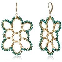 [アマンダ・ステレット] AMANDA STERETT 天然石ターコイズ フックピアス F11013 Earrings