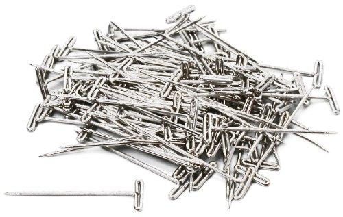 """Hobbico 1-1/4"""" Steel T-Pins (100-Piece)"""