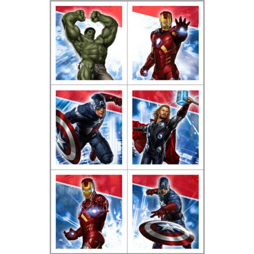 Avengers Sticker Sheets Party Accessory - 1