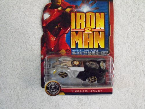 Iron Man 2 Die Cast Collection ~ Whiplash (Oneway) by Marvel