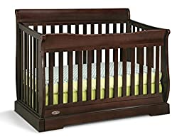 Graco Maple Ridge 4-in-1 Convertible Crib, Espresso