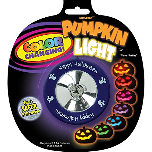Amscan Color Changing Pumpkin Light - 1