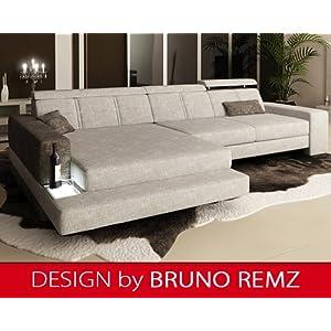 Bewertungen Bruno Remz Graz Sm Design Sofa Couch Ecksofa Eckcouch Wohnlandschaft Stoffsofa