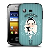 Head Case Alice & Dinah Alice In Wonderland Case For Samsung Galaxy Pocket S5300