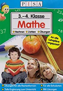 PISA Lernsoftware 3.-4. Klasse Mathe. Windows Vista und XP: PC-Lernsoftware