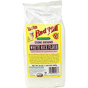 Bob's Red Mill White Rice Flour, Organic, 24-Ounce
