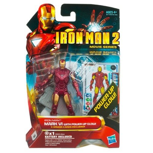 Iron Man 2 Movie 4 Inch Action Figure Iron Man Mark VI